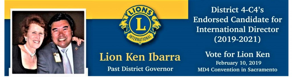 Ken Ibarra Endorsed Candidate for International Director