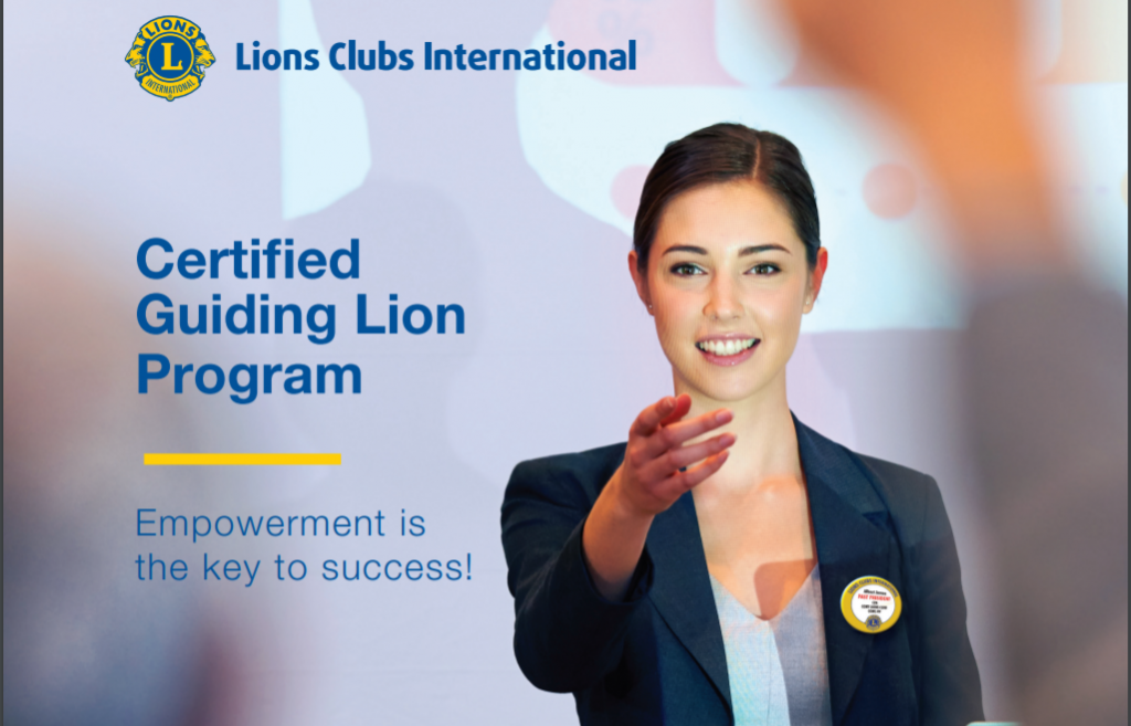Certified Guiding Lions Program