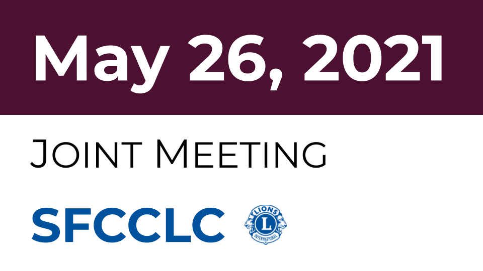 [SFCCLC] Re: 4C4 Council Joint Meeting Agenda May 26, 2021 Wednesday 7 pm