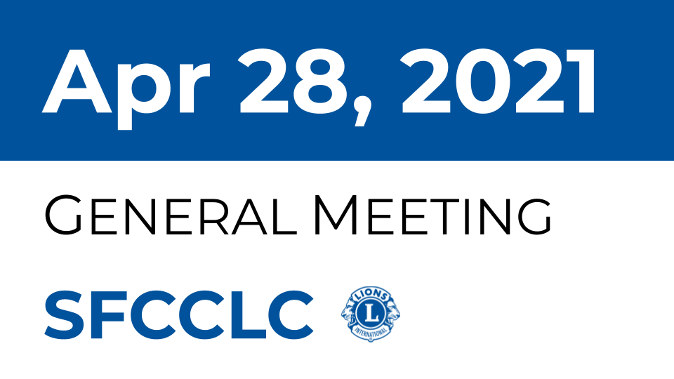 [SFCCLC] SFCCLC Meeting Flyer 2021-4-28, Last meeting minutes